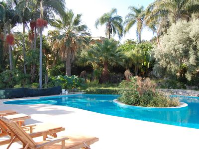 Photo for Hillside Villa, Pool, Panoramic, Quiet, Fireplace, WiFi, Aircon, 6 people