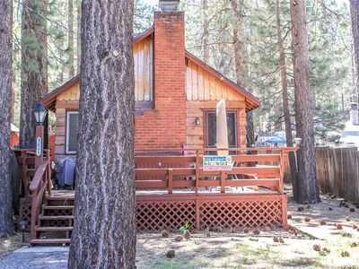 Photo for Cottage in the Pines - Walk to Ski Shuttle! WiFi