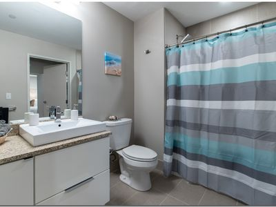 Photo for The Flats Downtown modern 1BD 1BA Gym 5 stars.