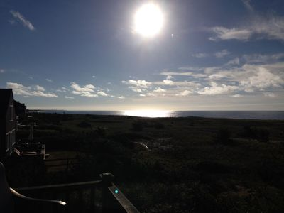 Photo for Surf Diva-A stunning ocean view,  perched on your own beach