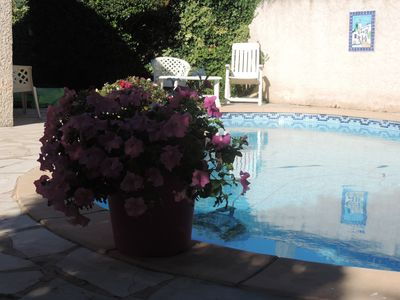 Photo for Villa with pool in the heart of Provence near Aix en Provence