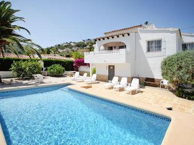 Photo for holiday home, Teulada Moraira  in Um Valencia - 6 persons, 3 bedrooms