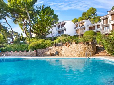 Photo for Apartment near the beach of Llafranch with beautiful swimming pool with sun terrace