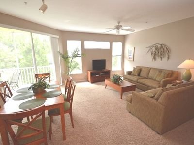 Photo for 19-202 Quiet, Secluded resort, perfect for a family, separate bedrooms, kitchen