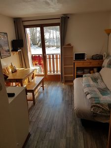 Photo for Studio Flat, Sleeps Four, Doorstep Skiing, Concierge Service, cleaning and linen