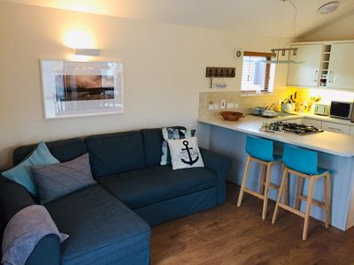 Photo for Newly decorated beach cabin on the Wild Atlantic Way - for couples and families