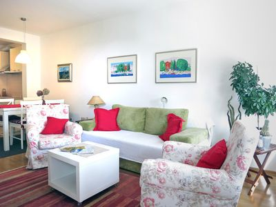 Photo for Bright, Airy, Comfortable - Feel at Home :-) Free wi-fi and parking...