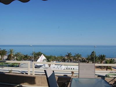 Photo for Marvellous Penthouse first line Burriana Beach