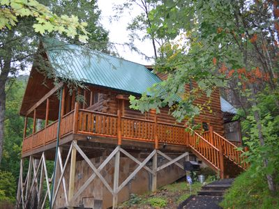 Photo for JUST ENUFF Cabin - 5 Star Beautiful View in Gatlinburg has everything you need!