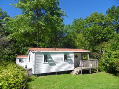 Photo for Mobile Home, on campsite ***. Limit Basque Country / Landes