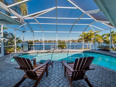 Photo for Stunning, Elegant, Gulf Access with Salt Water Pool - Villa Elysium - Cape Coral, FL