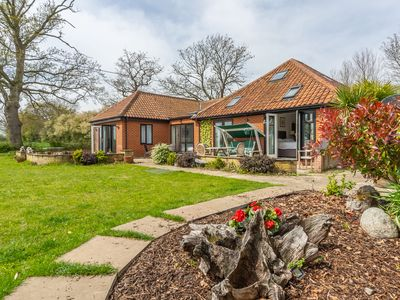 Photo for Threeways is a spacious tucked away holiday home, perfect for family and friends
