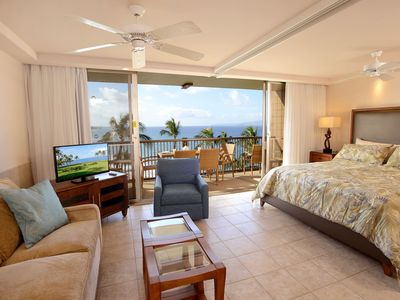 Photo for Up to 15% OFF! Mana Kai Maui 1BD OceanView Condo on 7th Floor!