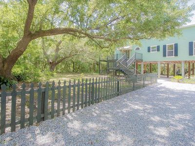 Photo for Private beach home right in downtown!