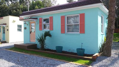 Photo for Vintage Cottage, 3 blks to beach, 1 blk to downtown shops/dining, see our video