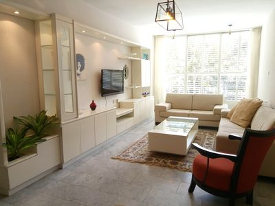 Photo for Spectacular stay in Tel Aviv apartment – 5 min from sea