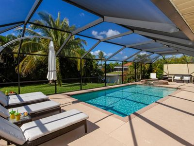 Photo for SW Cape Coral | Gulf Access | Comfortable recliners & 2 king size beds