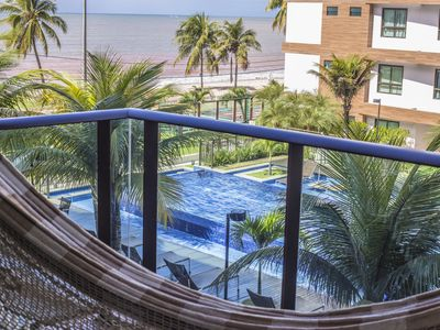 Photo for Sea View Apartment - Resort Structure | Net Top HD, WIFI 30MB
