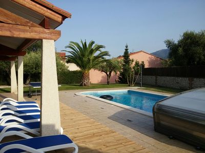 Photo for Luxury 4 Bed Family Villa, Pool, Wifi, Aircon, Quiet Area, Lovely Seaside Town