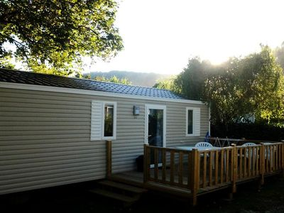 Photo for Camping Alsace doors *** - Cottage Escape 3 Rooms 4 Persons