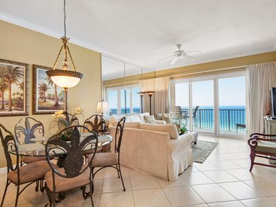 Photo for ☼Grandview East 1503-3BR☼ Gulf Front! Beach Service! Jul 10 to 12 $1067 Total!