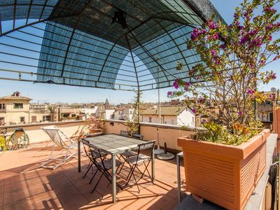 Photo for Apartment 284 m from the center of Rome with Internet, Air conditioning, Terrace, Balcony (9735)
