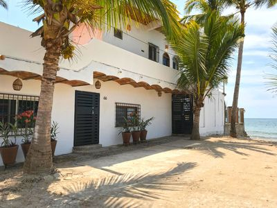 Photo for Stylish indoor/outdoor, 2 bedroom beachfront loft living at La Esquina Peresoza.