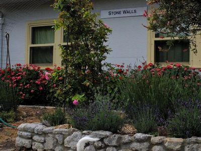 Photo for (Small) Dog Friendly, Stonewalls Cottage is a Charming Retreat