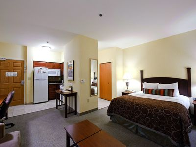 Photo for Free Breakfast Buffet & Pool Access! Great Location Near Area Beaches!