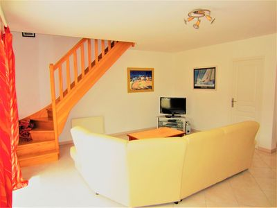 Photo for Maison Tatihou for 6 people, 2 steps from the beach, free WIFI