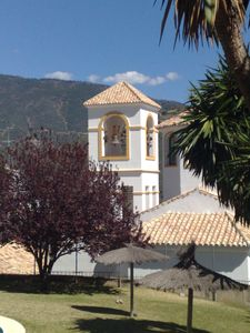 View of the church from the balcony