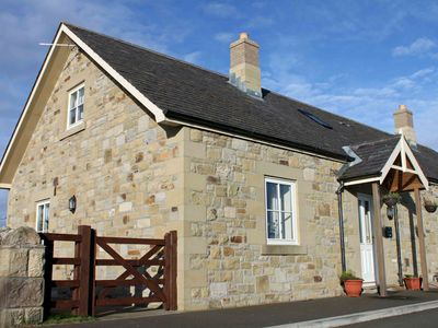Photo for 1 Field View - A cosy dog friendly coastal cottage with private access to beach