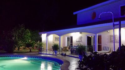 Photo for superb villa la somone, pool, air-conditioned rooms, 75th night / 525th week