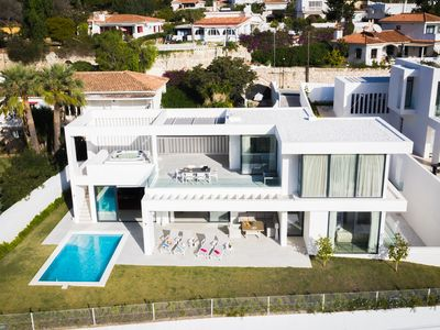 Photo for Oasis - Newly designed luxury villa in Benalmádena with Jacuzzi and Parking