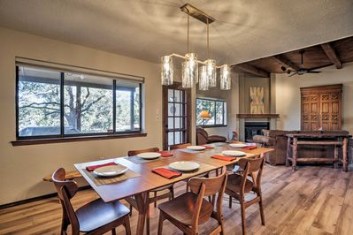 Explore Santa Fe and enjoy all the modern comforts of home at this getaway!
