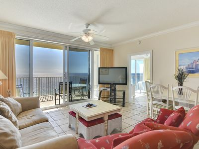 Photo for Panama City Beach condo with view of the Gulf ~FREE Activities $126 Value