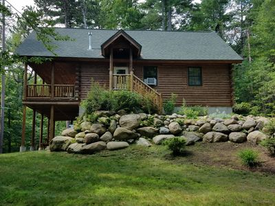 Photo for Relaxing Log Cabin Retreat minutes from Whiteface