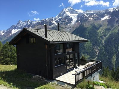 Photo for Chalet Alora - 8 beds and 180sqm luxury in the skiing and hiking paradise at 2000m