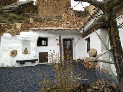 Photo for Acacia cave together Balcones de Piedad. Guadix-Granada. 2 pax
