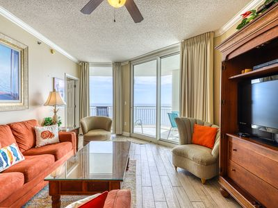 Photo for 16th Floor Gulf Front Rental In High Rise Property, Close To Dining