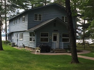Photo for 5 BDR 2 Baths west facing beautiful sunsets on Cross Lake!