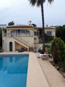 Photo for Sunny Villa in Les  Basetes Calpe 100 metres from the sea