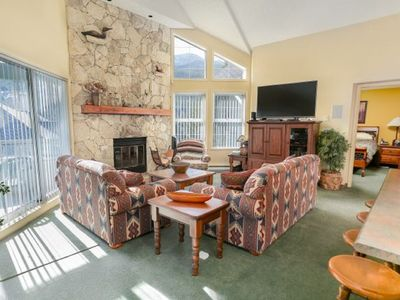Photo for FREE ACTIVITIES - Top Floor Suite with Mountain Views by Harmony Whistler