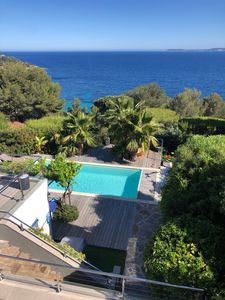 Photo for Large house with pool and sea view
