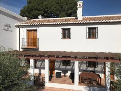 Photo for Rural house with pool in the countryside near the Caminito del Rey.