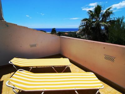 Photo for Club Villamar - Cozy and spacious house with a fabulous sea views, shady terrace and barbecue