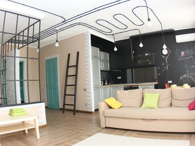 Photo for AlphaApartments - Loft at Arena-Omsk