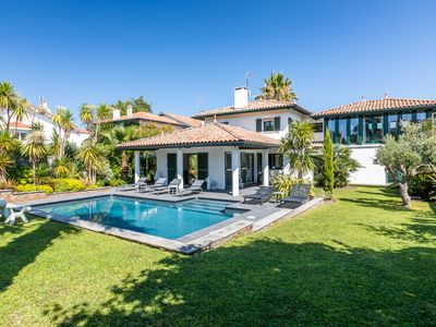 Photo for Villa Julia - Gorgeous villa with heated pool in the heart of Anglet !