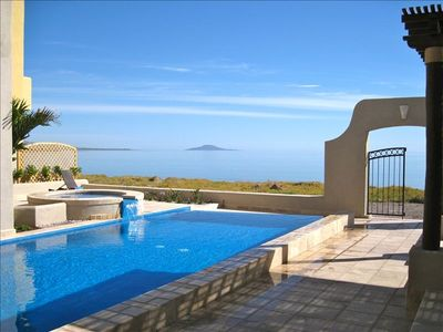 Photo for Luxury Beachfront Villa with 4 Bds, Pool and Hot Tub-