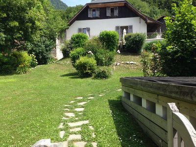 Photo for Country house near Lake Annecy to book in July and August 2018